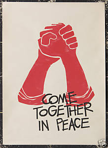 Come together in peace